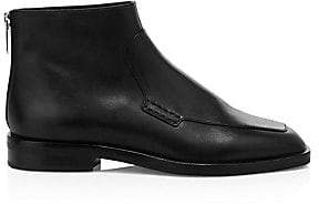 3.1 Phillip Lim Women's Alexa Leather Loafer Ankle Boots