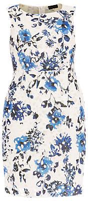 Studio 8 Rochelle Floral Print Lace Dress, Blue/Multi