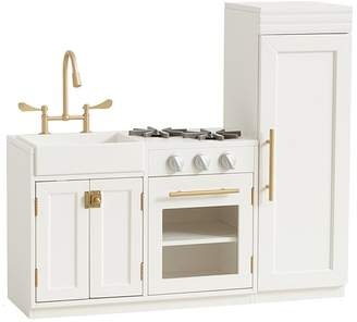 Pottery Barn Kids Chelsea All-in-1 Kitchen, Simply White, UPS