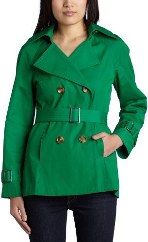 MICHAEL Michael Kors Women's Double Breasted Trench