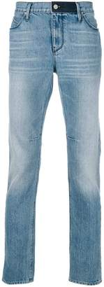 RtA slim-fit faded jeans