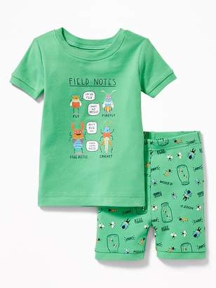 "Old Navy ""Field Notes"" Bugs Sleep Set for Toddler & Baby"