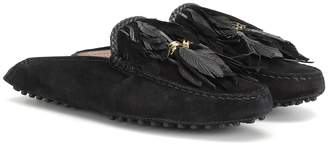 Tod's Suede slippers