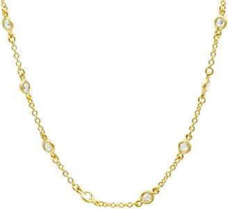 Freida Rothman Color Theory Mini Bezel Stone Necklace