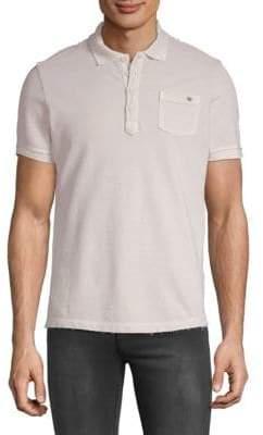 Jet Lag Washed Polo Shirt