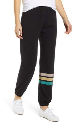 Wildfox Couture Easy Contrast Trim Sweatpants