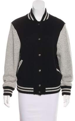 Marc Jacobs Wool Bomber Jacket