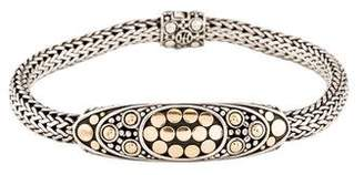 John Hardy Two-Tone Dot Station Bracelet
