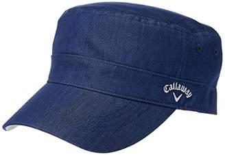 Callaway (キャロウェイ) - [キャロウェイ] [レディース] 定番 ロゴ入り ワークキャップ (サイズ調整)[ 241-9984815 / WORK CAP WOMEN ] 帽子 ゴルフ 120_ネイビー 日本 FR (FREE サイズ)