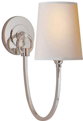 Visual Comfort & Co. Reed 1-Light Sconce - Nickel