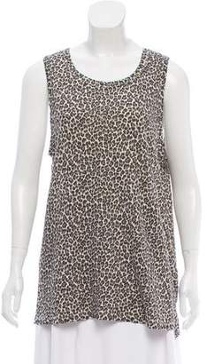 Current/Elliott Printed Sleeveless Top