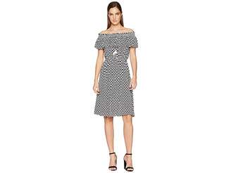 Kate Spade Arrow Stripe Rayon Dress Women's Dress