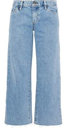 Simon Miller Marlo Cropped Low-Rise Wide-Leg Jeans