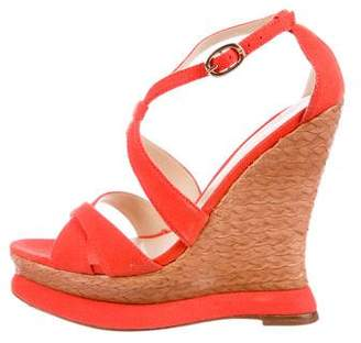 Alexandre Birman Platform Wedge Sandals