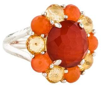 Ippolita Rock Candy Autumn Flower Cocktail Ring