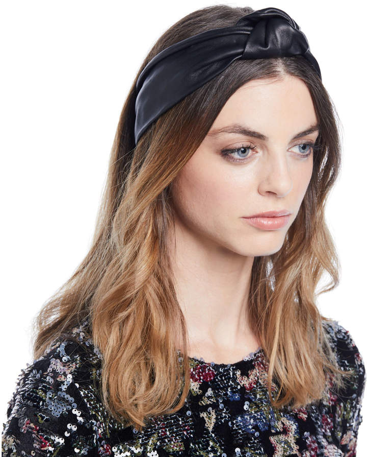 Jennifer Behr Knotted Leather Head Wrap