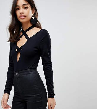 Asos Body With Long Sleeve And Caging