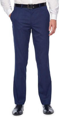 Jf J.Ferrar Plaid Super Slim Fit Stretch Suit Pants