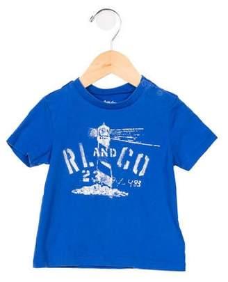 Ralph Lauren Boys' Graphic Crew Neck T-Shirt