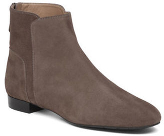 Delman Myth Suede Ankle Boots $398 thestylecure.com