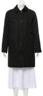 Burberry Quilted Wool Coat