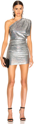 IRO Exciter Dress in Silver | FWRD