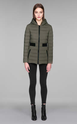 Mackage KAILA Lightweight down coat with insert at waist and collar