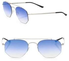 Kyme 52MM Hexagon Sunglasses
