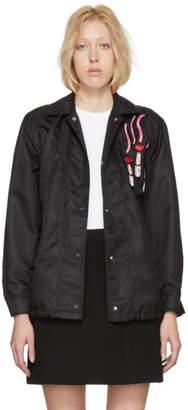 Valentino Black Lipstick Jacket