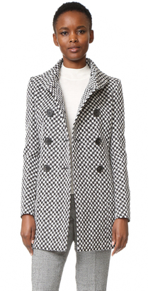 Derek Lam Double Breasted High Collar Coat $2,895 thestylecure.com