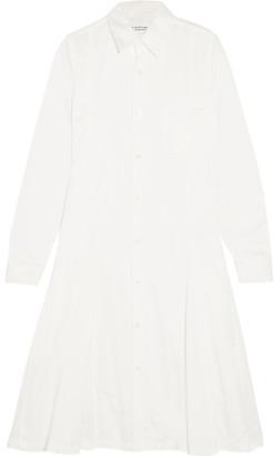 Comme des Garçons Comme des Garçons - Cotton Shirt Dress - White $635 thestylecure.com