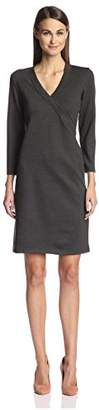 Society New York Women's Surplice Dress,L