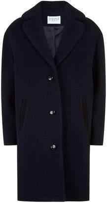 Claudie Pierlot Boucle Wool Coat