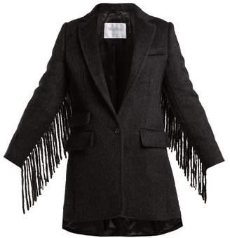Max Mara Manico Coat - Womens - Dark Grey