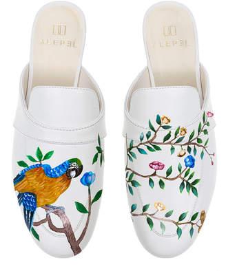 Alepel M'O Exclusive: Parrot Floral Mule