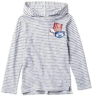 Joe Fresh Long Sleeve Hooded Shirt (Big Boys)