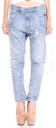 Diesel Fayza R25H8 Relaxed-Boyfriend Low Waist Jeans Women
