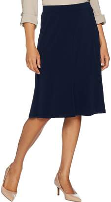 DAY Birger et Mikkelsen Every by Susan Graver Liquid Knit Fit & Flare Pull- On Skirt