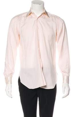 Stefano Ricci Woven Button-Up Shirt