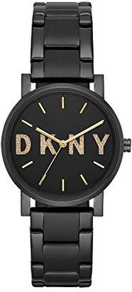 DKNY Women's Soho Quartz Watch with Stainless-Steel-Plated Strap