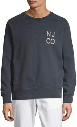 Nudie Jeans Graphic Cotton Sweatshirt