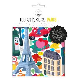 Sale - Paris Wall Stickers - Set of 100 - Omy