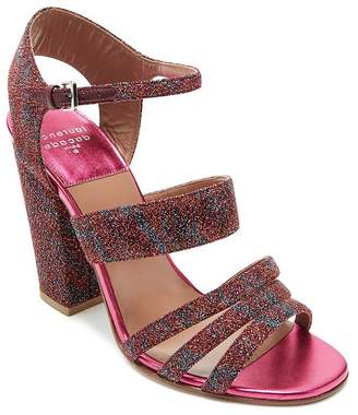 Laurence Dacade Women's Ninon Multicolor Metallic Ankle Strap Sandals