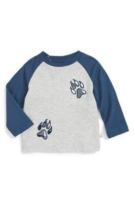 Rosie Pope 'Paw Print' Raglan Sleeve T-Shirt (Baby Boys)