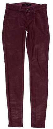 J Brand Low-Rise Skinny Jeggings