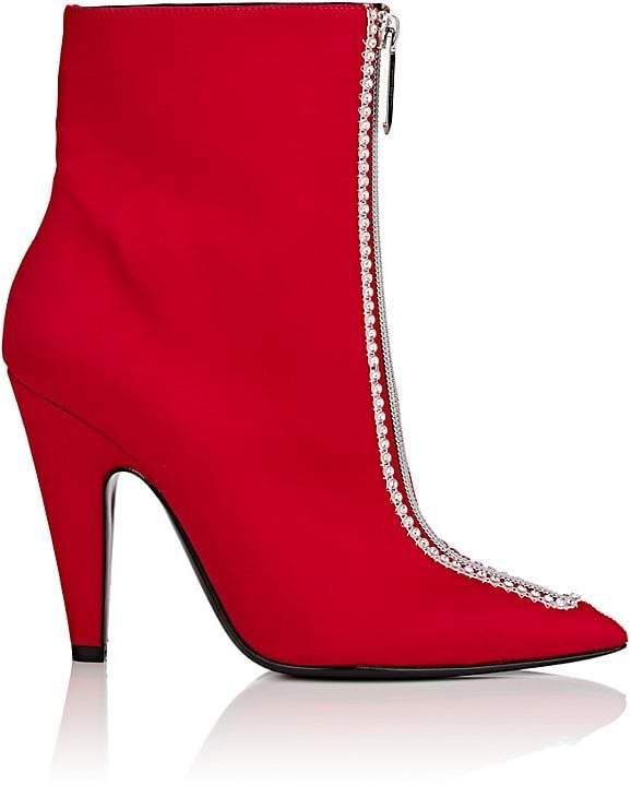CALVIN KLEIN 205W39NYC Women's Kailin Satin Ankle Boots