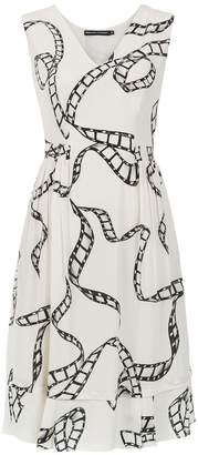 DAY Birger et Mikkelsen Reinaldo Lourenço silk printed dress