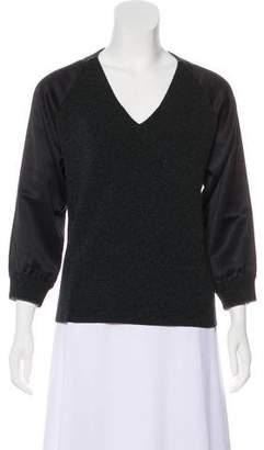 Golden Goose Long Sleeve Cashmere Sweatershirt