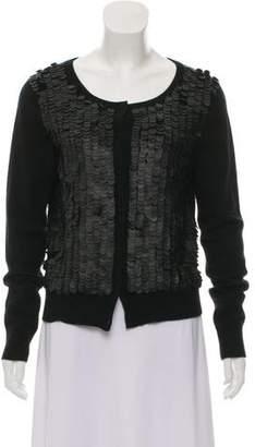 A.L.C. Cashmere Embellished Cardigan
