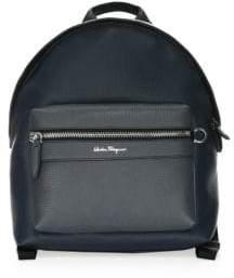 Salvatore Ferragamo Firenze Colorblock Leather Backpack